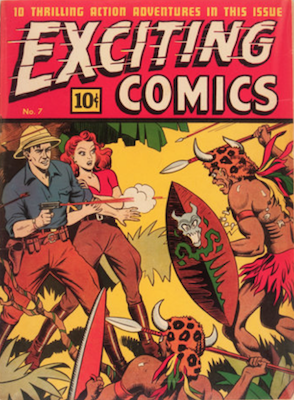 Exciting Comics #7. Click for current values.