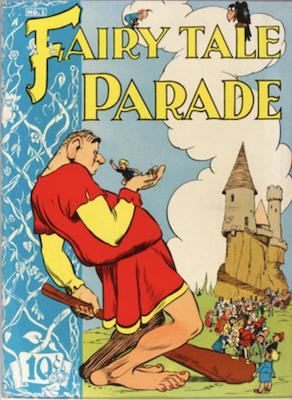 Fairy Tale Parade #1 (1942). Dell Comics. Click for values