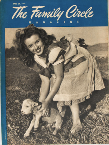 Family Circle Magazine #17: First US Monroe Cover Appearance. Click for values