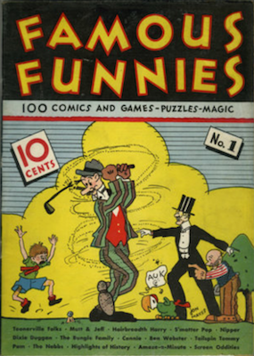 Famous Funnies #1 (1934): First comic book sold to the public. Click for values