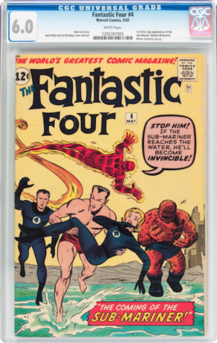 Marvel Villains #1: Namor the Sub-Mariner. Invest in a clean-looking CGC 6.0. Click for values