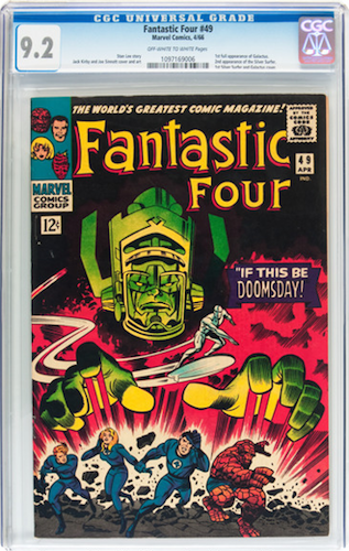 Fantastic Four #49, invest in CGC 9.2. Click for values