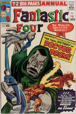 Fantastic Four Annual #2. Click for values