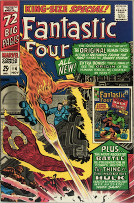 Fantastic Four Annual #4. Click for values