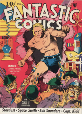 Fantastic Comics #1 (1939): First in series. Click for values