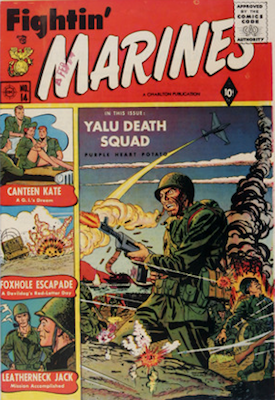 Fightin' Marines comic #14. Click for values