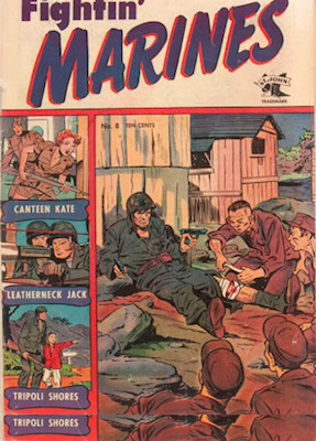 Fightin' Marines #8: Baker cover. Click for values
