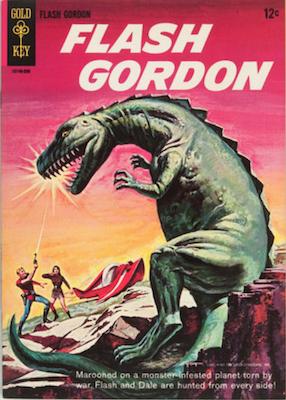 Flash Gordon #1 (1965), Gold Key comics. Click for values