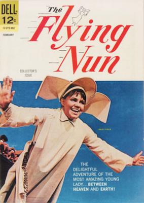 Flying Nun #1 (1968): Dell Comics. Click for values