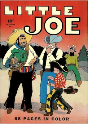 Four Color #1 (1942): Little Joe. Click for values.
