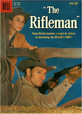 Four Color #1009: The Rifleman (#1). Click for values.