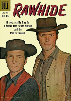 Rawhide: Four Color #1028. Dell Comics. Click for values