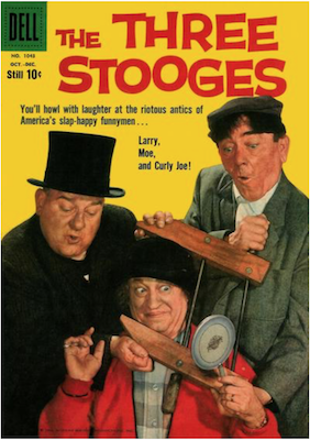 Four Color #1043: The Three Stooges (#1). Click for values.