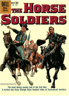Four Color #1048: The Horse Soldiers (John Wayne). Click for values.