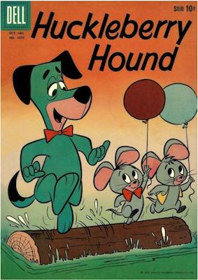 Four Color #1050: Huckleberry Hound. Click for values.