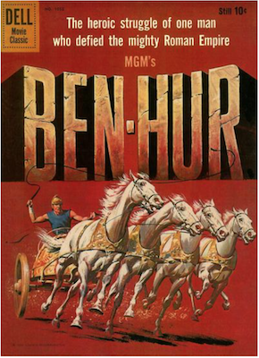 Four Color #1052: Ben Hur. Click for values.
