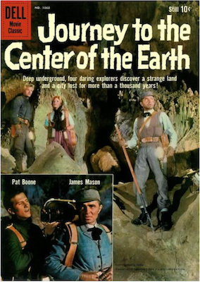 Journey to the Center of the Earth: Four Color #1060. Click for values