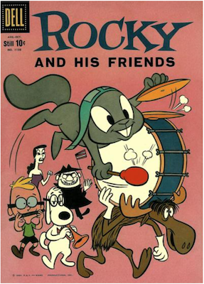 Rocky and his Friends (#1): Four Color Comics #1128. Dell Comics. Click for values