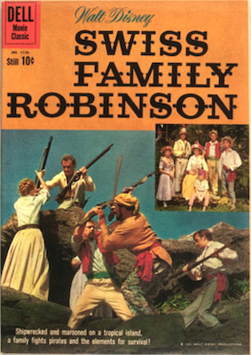 Swiss Family Robinson: Four Color #1156. Click for values