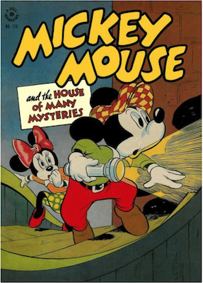 Four Color #116: Mickey Mouse and the House of Many Mysteries. Click for values.