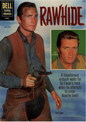 Four Color #1160: Rawhide (Clint Eastwood). Click for values.