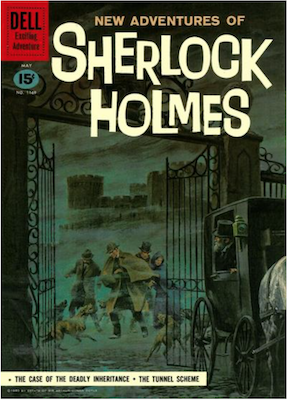 Four Color #1169: New Adventures of Sherlock Holmes. Click for values.