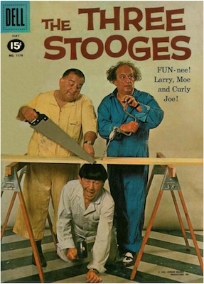 Four Color #1170: The Three Stooges. Click for values.