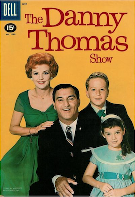 Four Color #1180: The Danny Thomas Show. Click for values.
