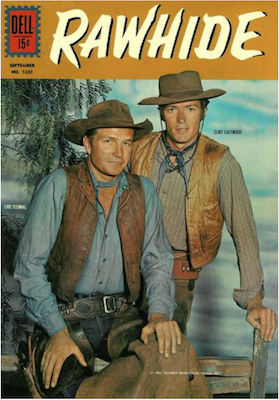 Four Color #1202: Rawhide (Clint Eastwood). Click for values.