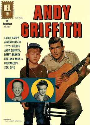 Four Color #1252: The Andy Griffith Show. Click for values.