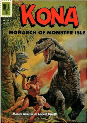 Four Color #1256: Kona, Monarch of Monster Isle (#1). Click for values.