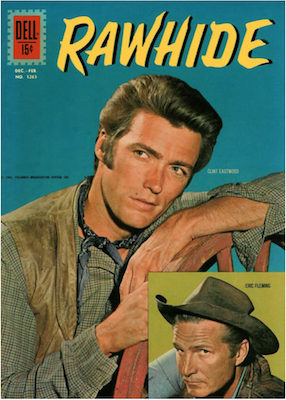 Four Color #1261: Rawhide (Clint Eastwood). Click for values.