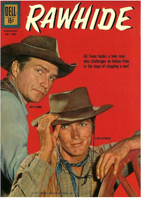 Four Color #1269: Rawhide (Clint Eastwood). Click for values.