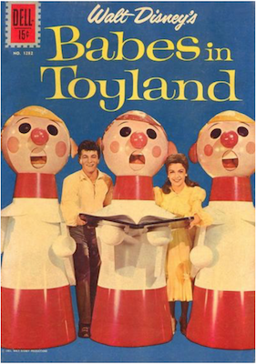 Four Color #1282: Babes in Toyland. Click for values.