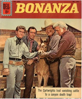 Four Color #1283: Bonanza. Click for values.