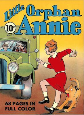 Four Color #12: Little Orphan Annie. Click for values.