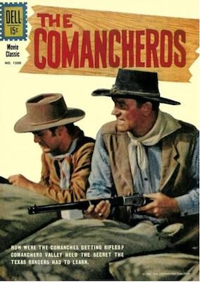 Four Color #1300: The Comancheros (John Wayne). Click for values.