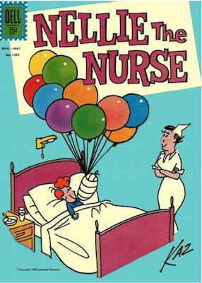 Four Color #1304: Nellie the Nurse. Click for values.