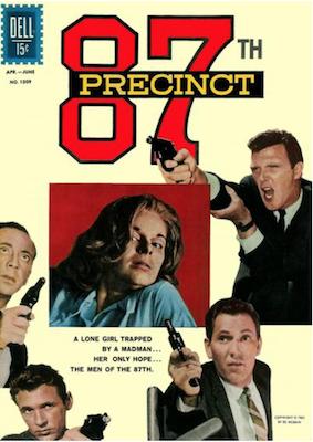 Four Color #1309: 87th Precinct (#1). Click for values.
