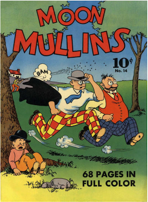 Four Color #14: Moon Mullins (#1). Click for values.