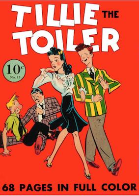 Four Color #15: Tillie the Toiler (#1). Click for values.