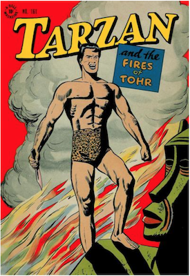 Four Color #161: Tarzan and the Fires of Tohr. Click for values.