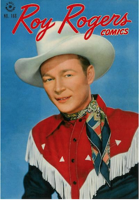 Four Color #166: Roy Rogers. Click for values.