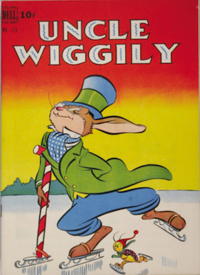 Uncle Wiggily: Four Color #179. Dell Comics. Click for values
