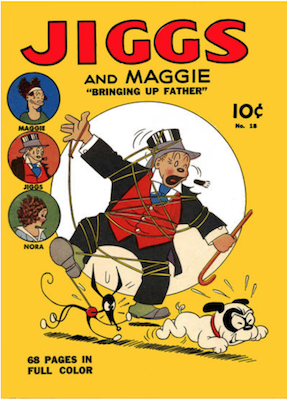 Four Color #18: Jiggs and Maggie (#1). Click for values.