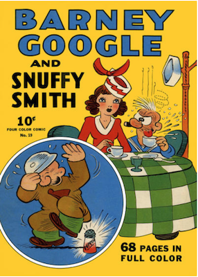 Four Color #19: Barney Google and Snuffy Smith (#1). Click for values.