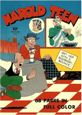 Harold Teen: Four Color #2 (1942). Click for values