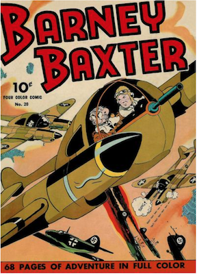 Four Color #20: Barney Baxster. Click for values.