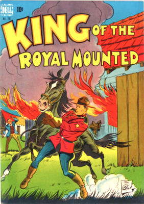 King of the Royal Mounted: Four Color #207. Click for values