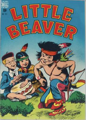 Little Beaver: Four Color #211. Click for values
